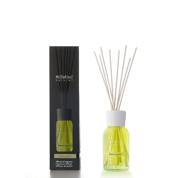 Millefiori Diffuser Reeds Lemon Grass 100ml