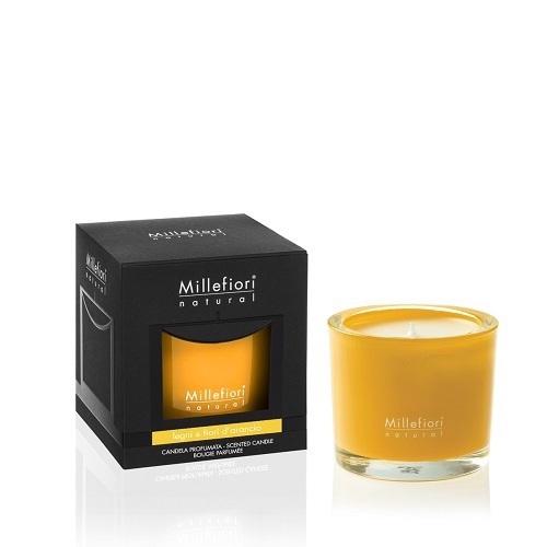 Millefiori Naturals Candle Legni E Fiori D Arancio
