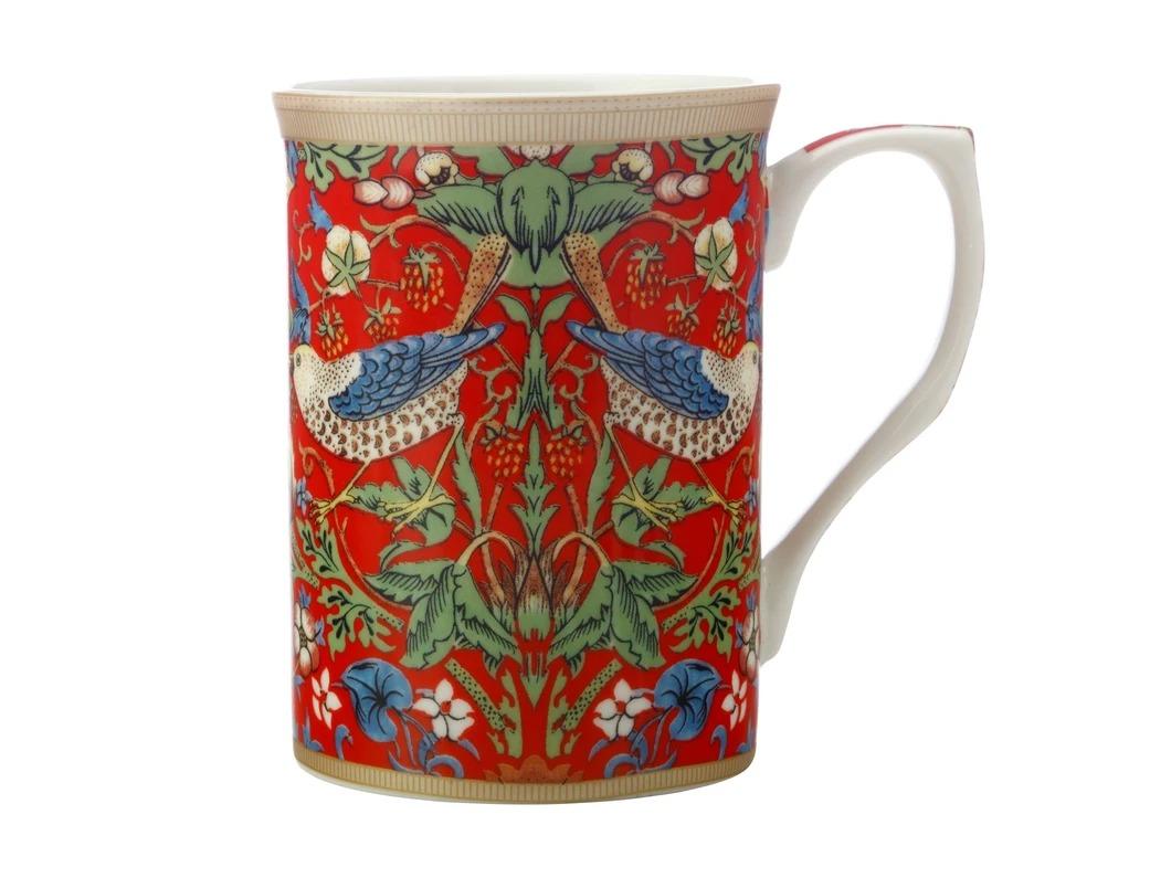 Maxwell Williams Strawberry Thief Red Mug 300ml
