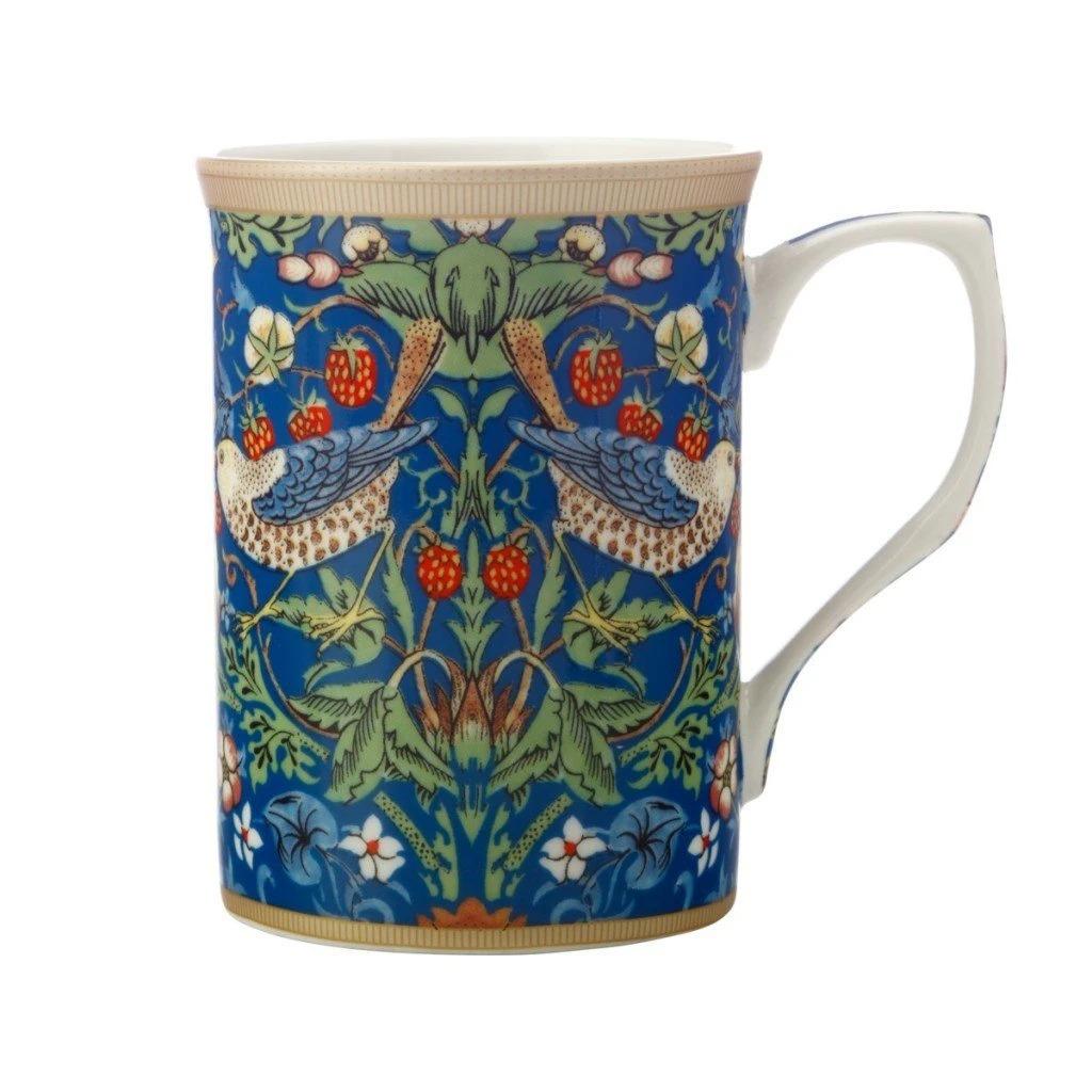 Maxwell Williams Strawberry Thief Blue Mug 300ml