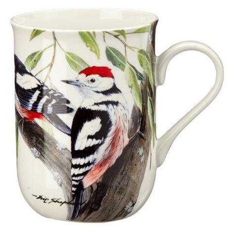Maxwell Williams Red Woodpecker Mug 300ml