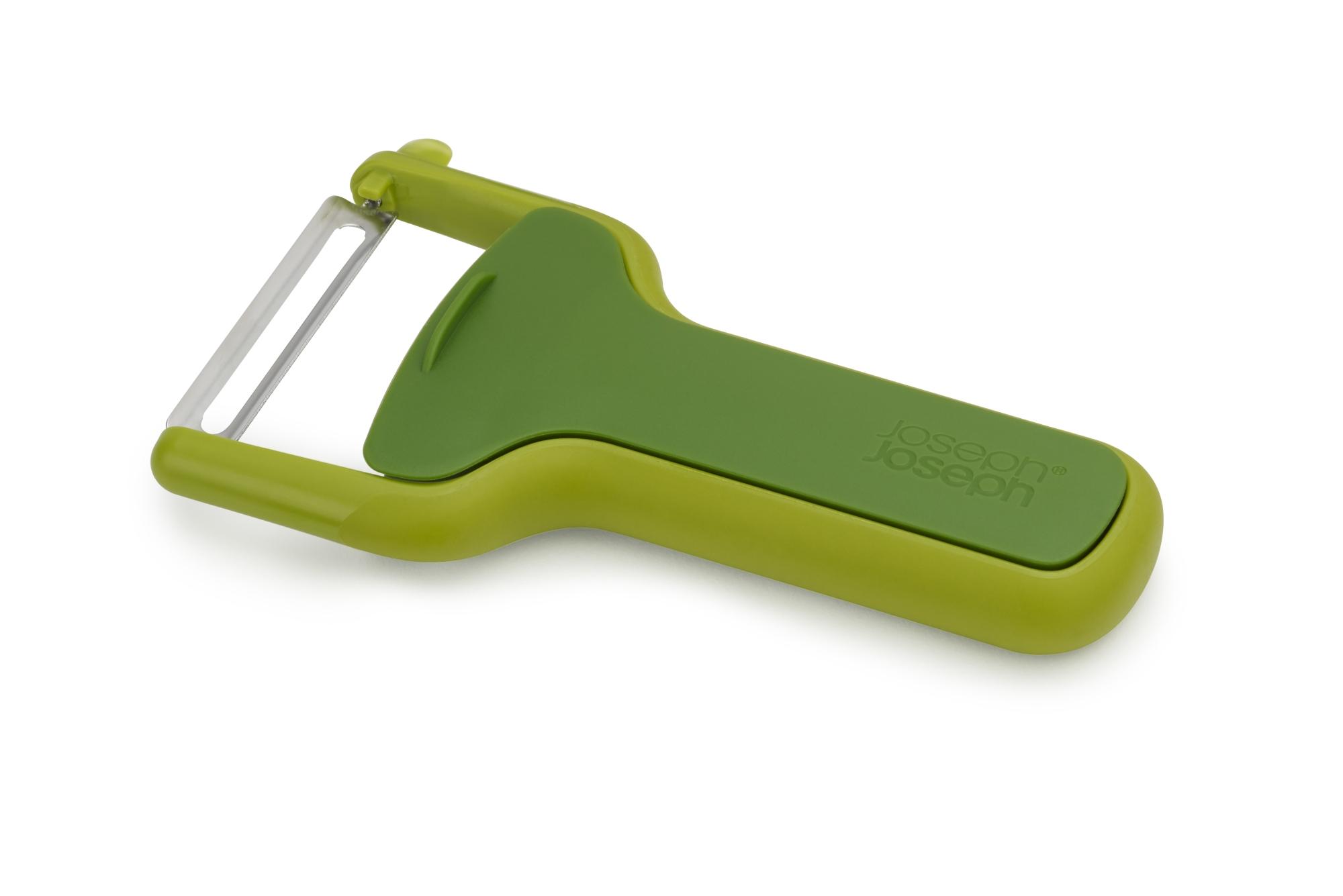 Joseph Joseph SafeStore Straight Peeler Green