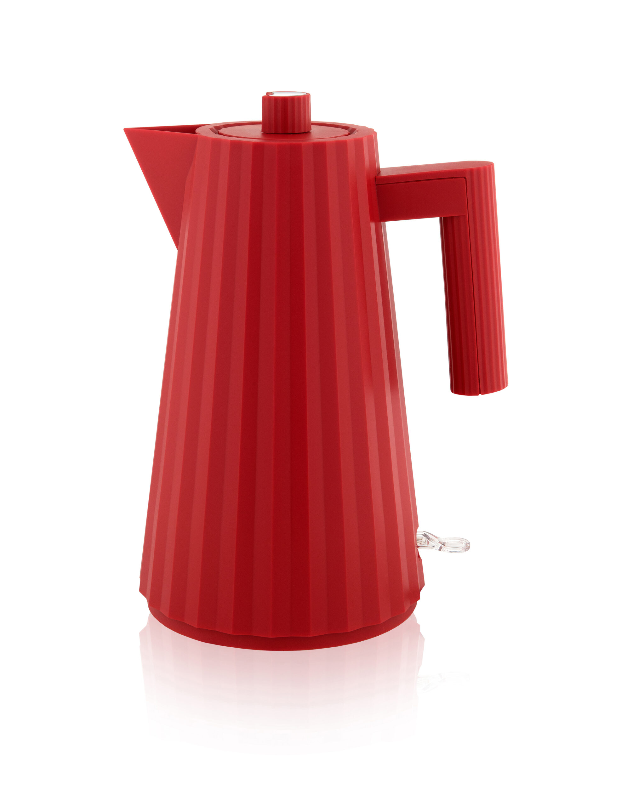 Alessi Plisse Water Kettle 1 Litre Red