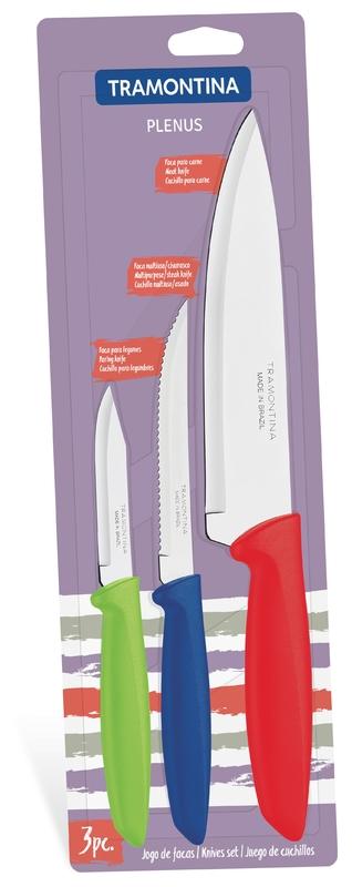 Tramontina Knife Set Plenus 3 Pieces