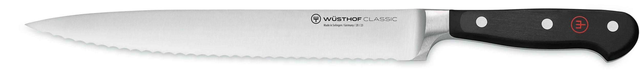 Wusthof Classic Serrated Slicer 23cm