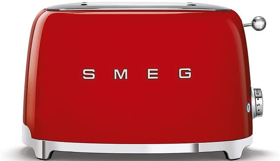 Smeg Retro Toaster 2 Slice Fiery Red