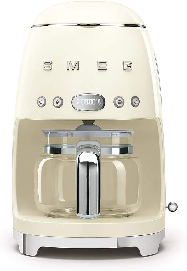 Smeg Coffee Machine Drip Filter Vintage Cream