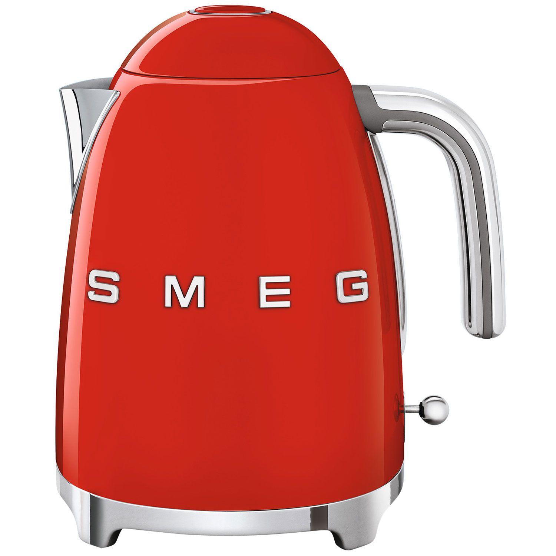 Smeg Retro Kettle 3D 1.7L Fiery Red