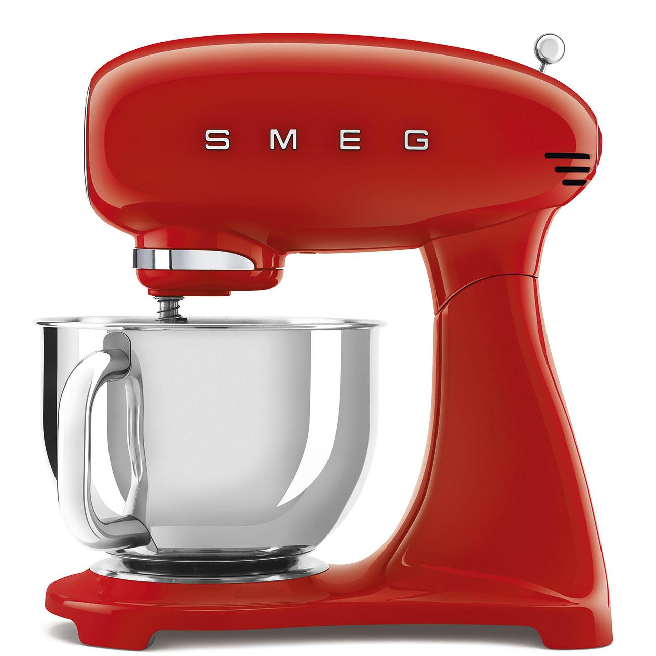 Smeg Retro Kitchen Machine 4.8L Bowl 10 Speed Red
