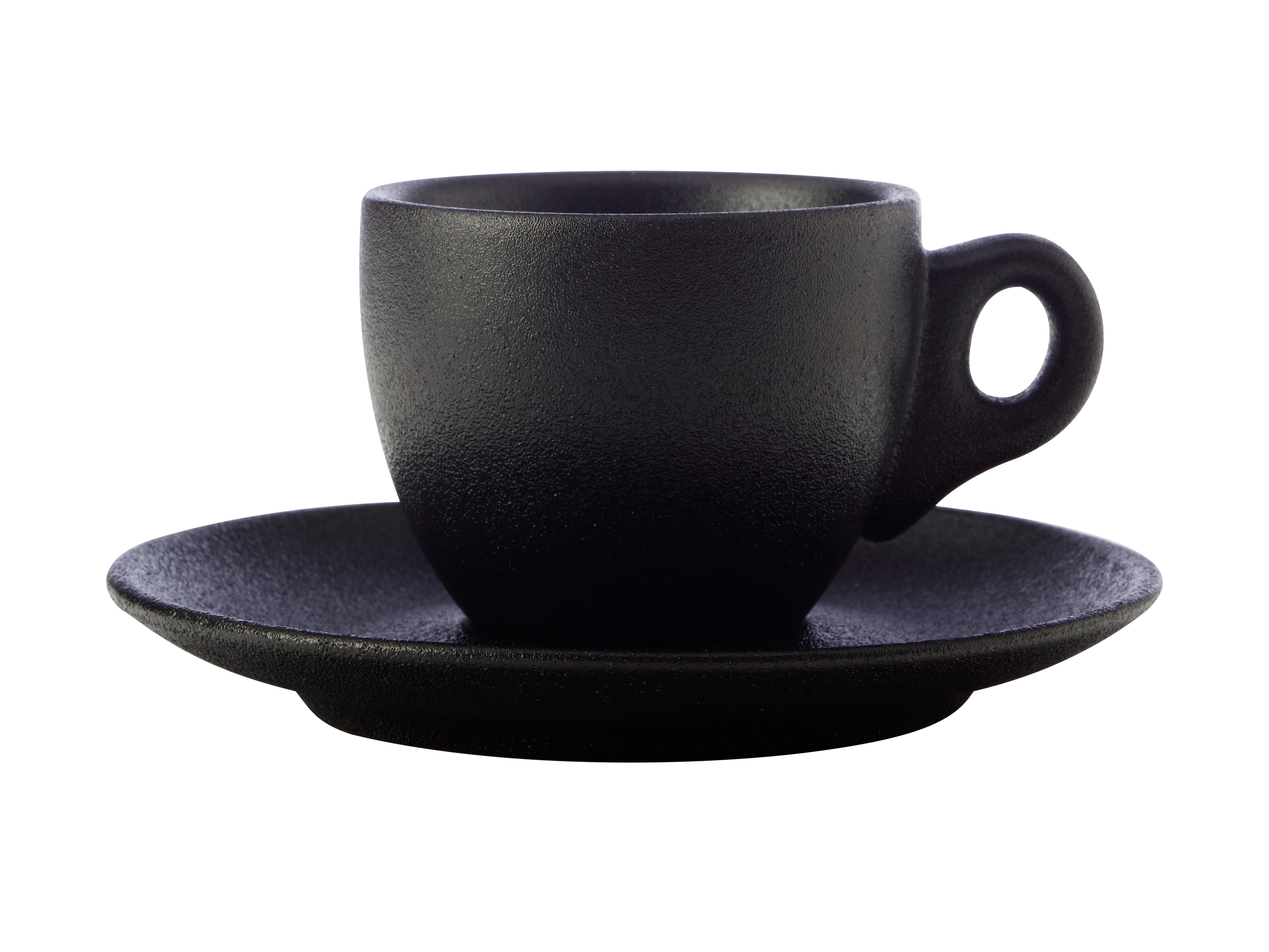Maxwell Williams Caviar Demi Cup & Saucer 100ml