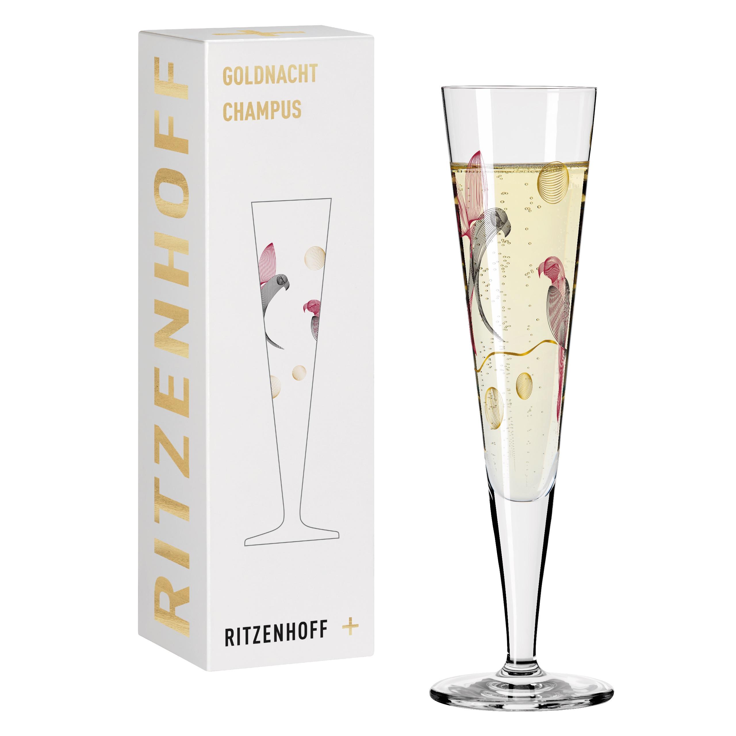 Ritzenhoff Goldnight Champagne Christine Korde