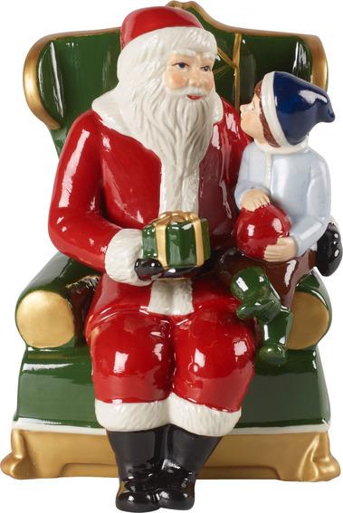 Christmas Toys Santa on Armchair