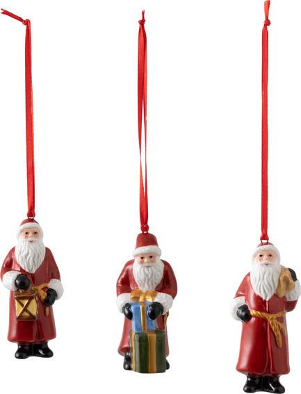 Nostalgic Ornaments Santa Claus Set 3pce