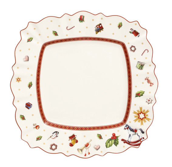 Toy's Delight Square Flat Plate